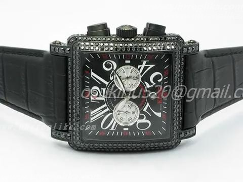 FRANCK MULLER KING Replica BLACK CORTEZ CHRONOGRAPH