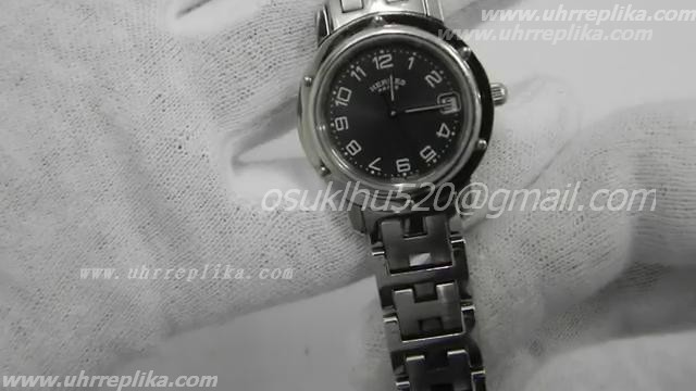 hermes replika kaufen lady paris black dial