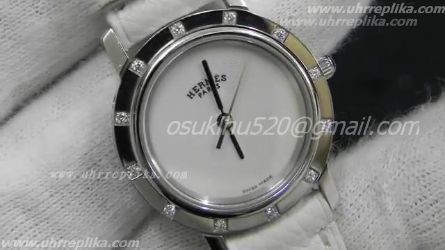 Hermes paris pearl of mother dial Fälschung Uhren