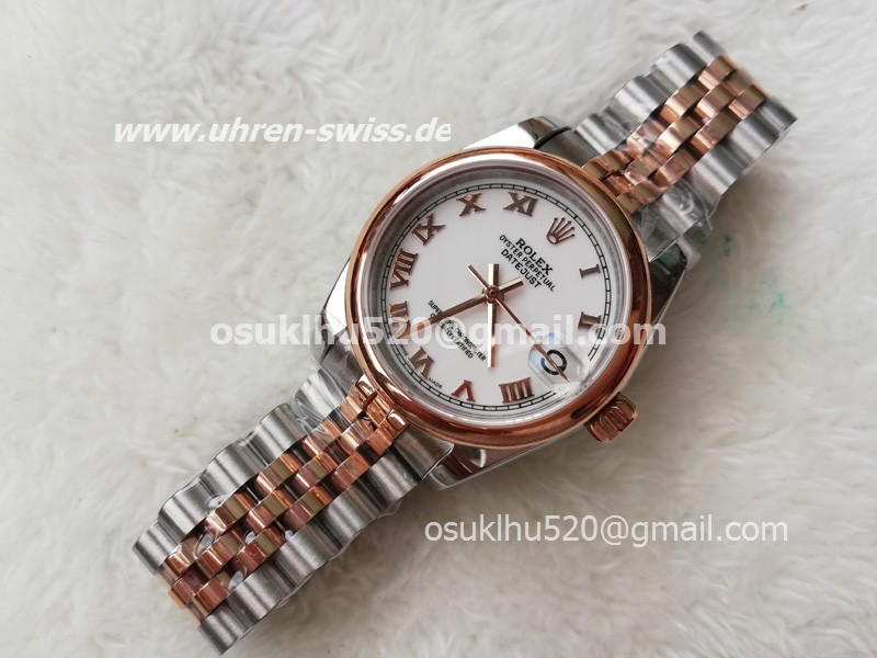 rolex 36mm replica DateJust Orange