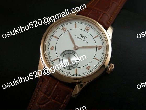 iwc portugese vintage rose gold weiß 2824 with 28800bp