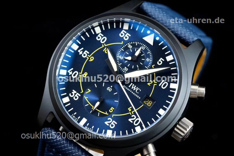 IWC Blue Angels IW389008 Pilot's Top Gun Watch Chronograph