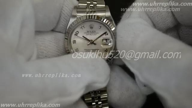 Rolex dayjust pearl of mother dial