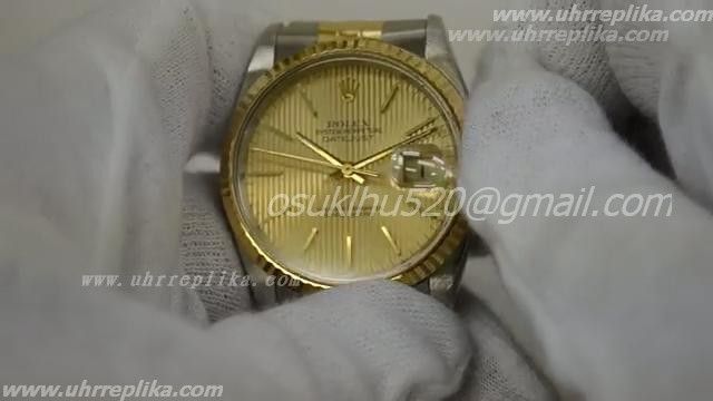 Rolex dayjust yellow gold