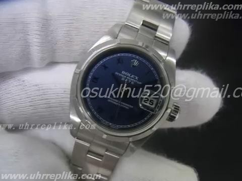 Rolex dayjust imitate blue dial roman marker
