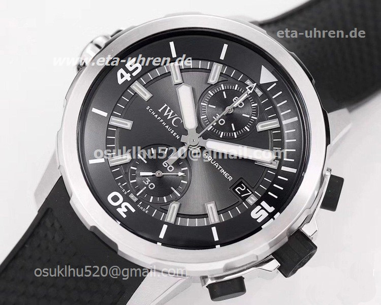 IWC Aquatimer Chronograph Sharks Edition Graues Zifferblatt