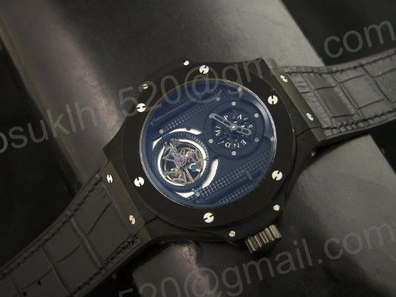 HBB All Black tourbillon 48MM Asian Automatikuhr