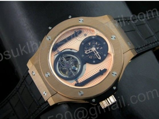 HBB rosegold tourbillon 48MM Asian Automatikuhr für Herren
