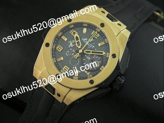 Hublot Ferrari Big Bang Magie Yello Gold 44MM Skeleton Dial A-7753