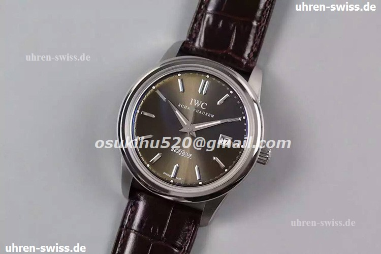 iwc replica swiss movement watches Ingenieur Schwarzes