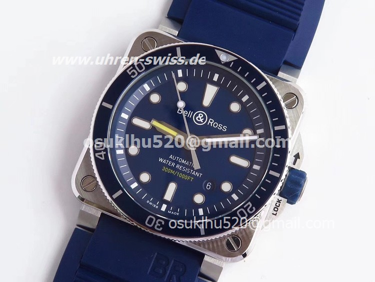 Bell & Ross BR 03-97 replica Blue