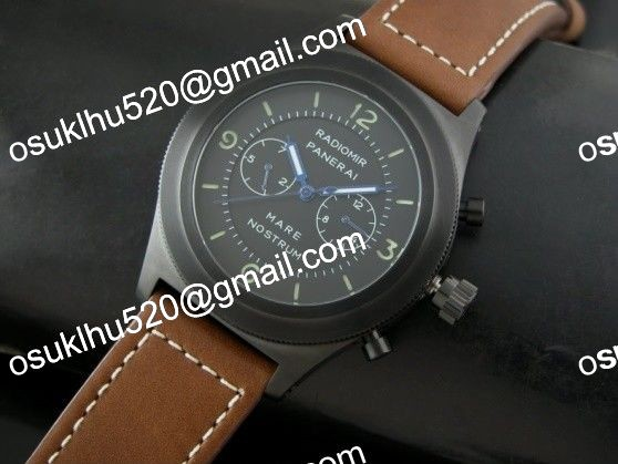 panerai pam300 mare nostrum pvd chonograph
