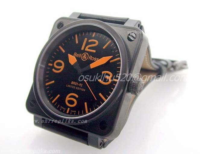 Bell & Ross replica BR 01-92 Limited Edition PVD Orange