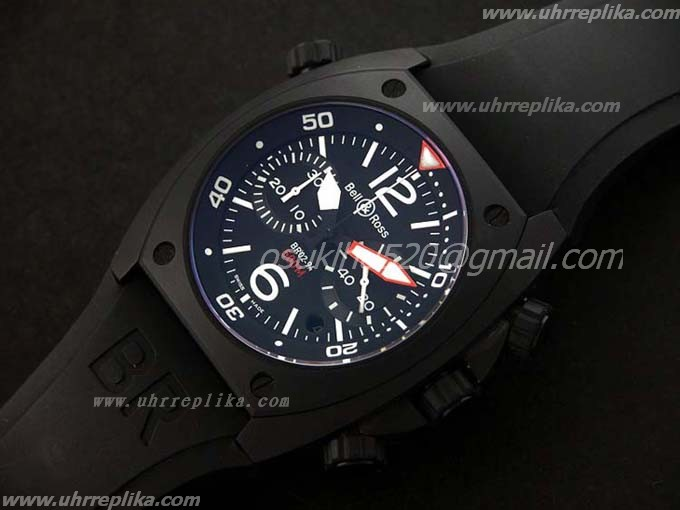 Bell Ross BR 02 94 Chrono PVD Black