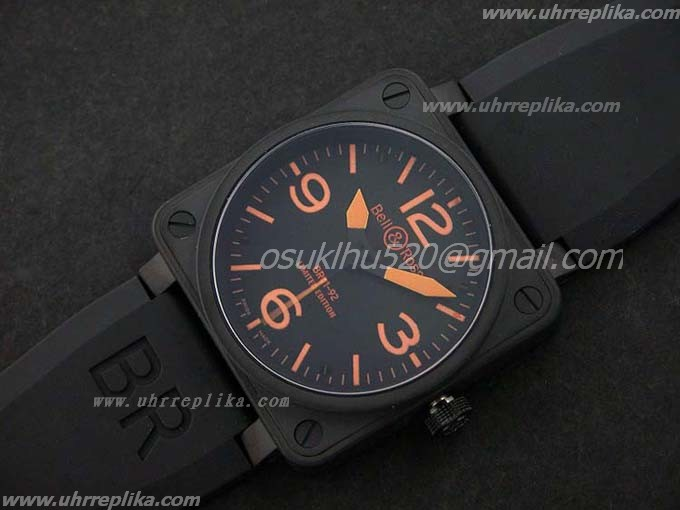 Bell Ross 01-92 PVD black orange