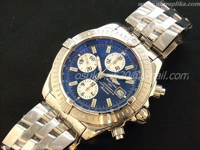 breitling imitation Chronomat Evolution Ultimate Edition Blaues Zifferblatt
