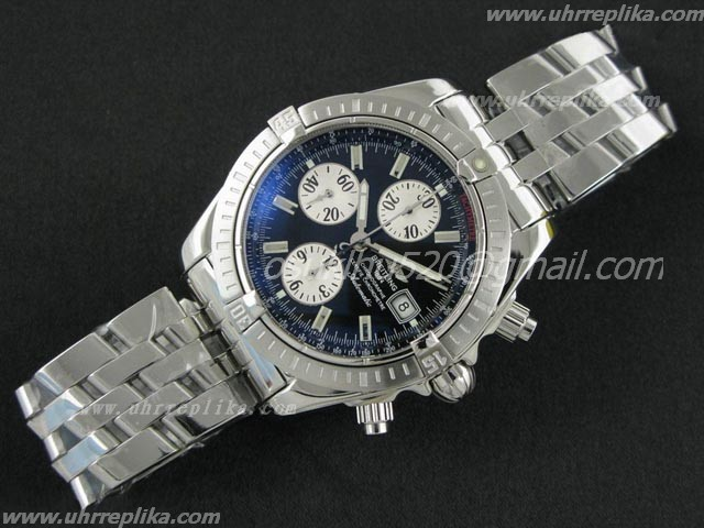 breitling imitation Chronomat Evolution Ultimate Edition Schwarzes Zifferblatt