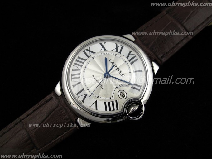 Cartier replica uk Ballon Bleu Brown ETA2824