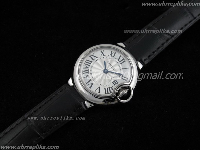 Cartier watches women Ballon Bleu Ladies Black