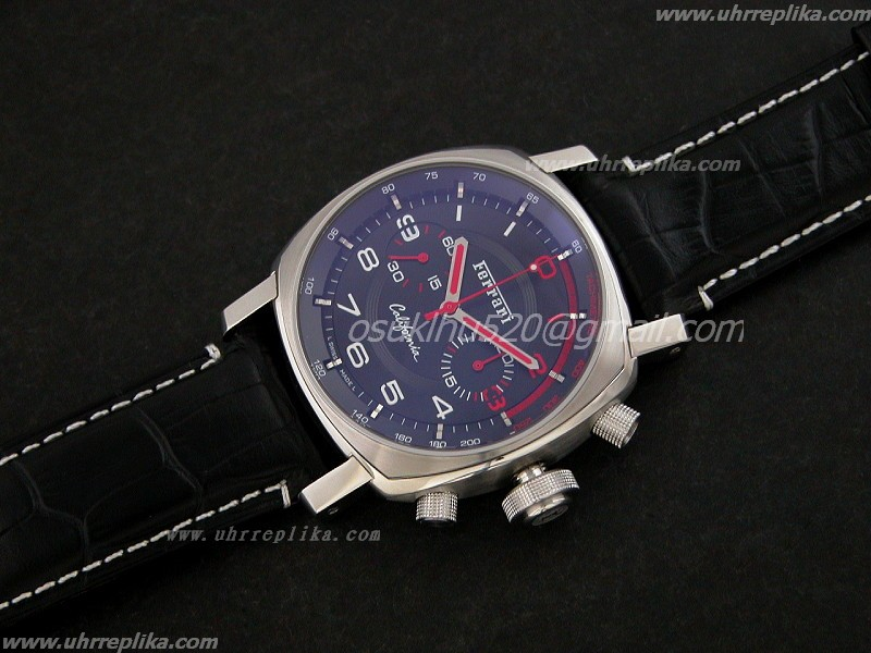 replica ferrari uhren 2009 California Car Flyback Chronograph 7750