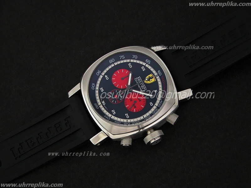 Ferrari imitat Gran Turismo Chrono Japan Quartz Red Sub