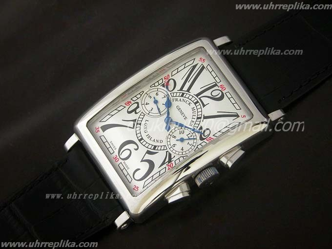 franck muller long island replica 36mm Black