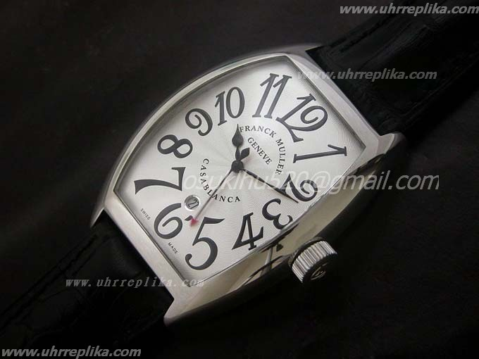 franck muller casablanca replica 40mm Automatic White