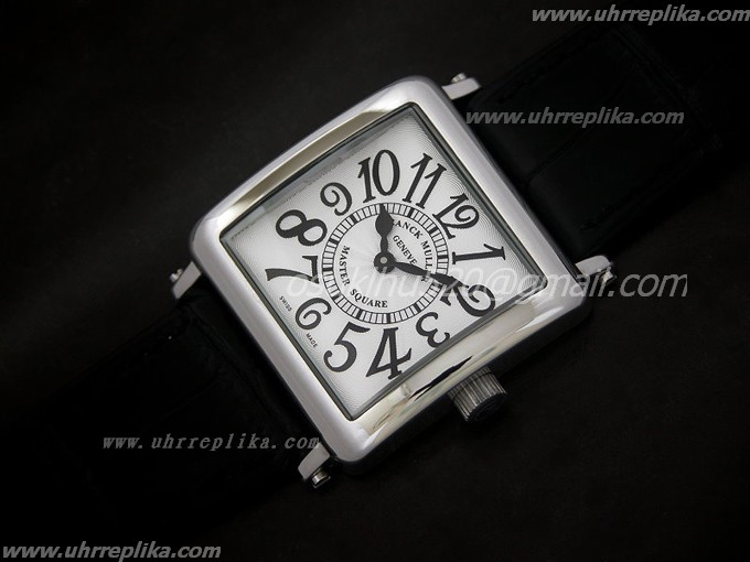 FRANCK MULLER Master Square Ladies Quartz white