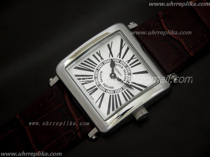 FRANCK MULLER replica Master Square Ladies Quartz White