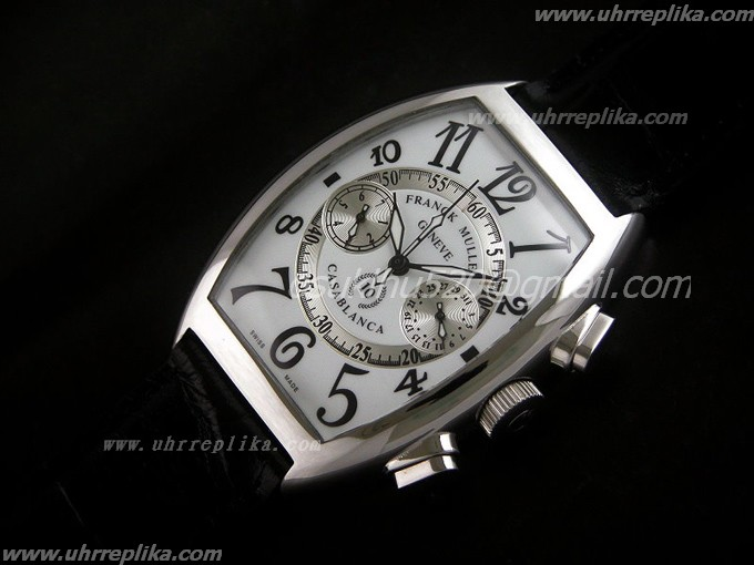 franck muller casablanca replica 35mm White