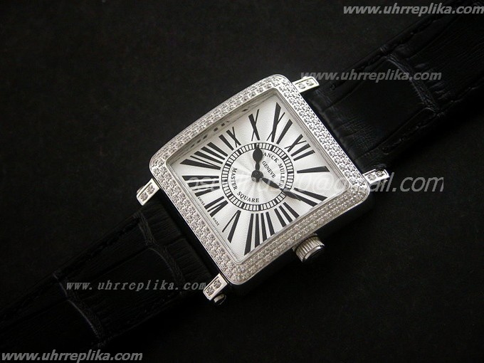 franck muller replica uhren Master Square Ladies Quartz white