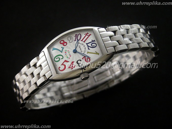 FRANCK MULLER Color Dreams Ladies Quartz 24mm White