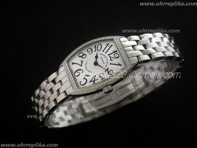 FRANCK MULLER Casablanca replica Ladies Quartz 24mm White