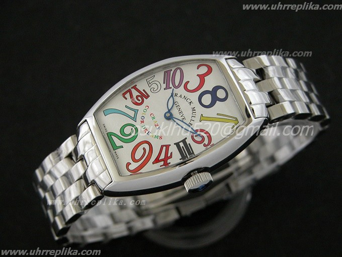 FRANCK MULLER Crazy Color replica Ladies Fashion Uhr Derams 5850