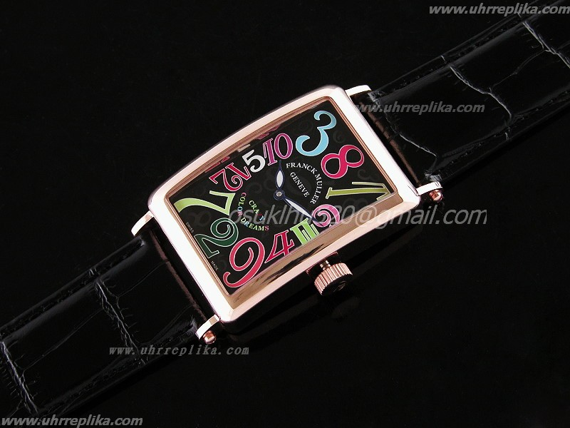 Franck Muller Crazy Color replica Dream Rose Gold Automatic