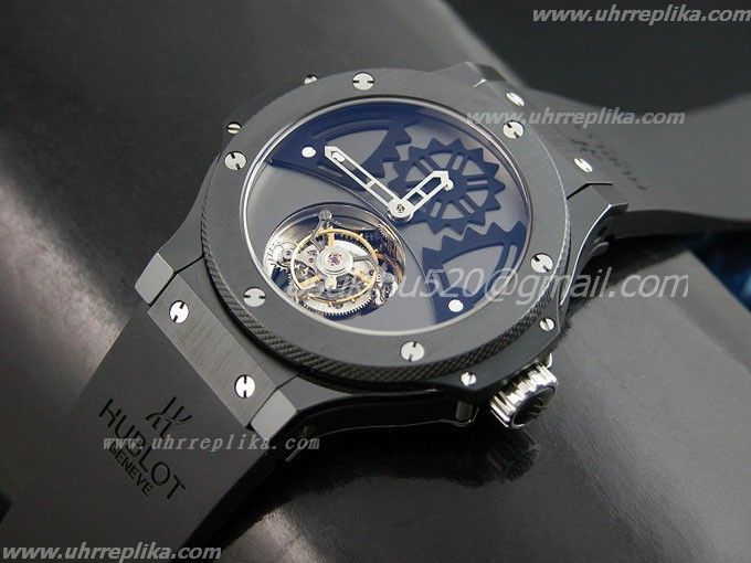 HUBLOT Tourbillon replica All schwarzes