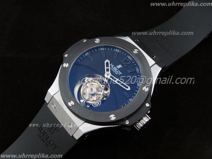 hublot tourbillon replica Solo Bang ( Edelstahl / Carbon / Rubber