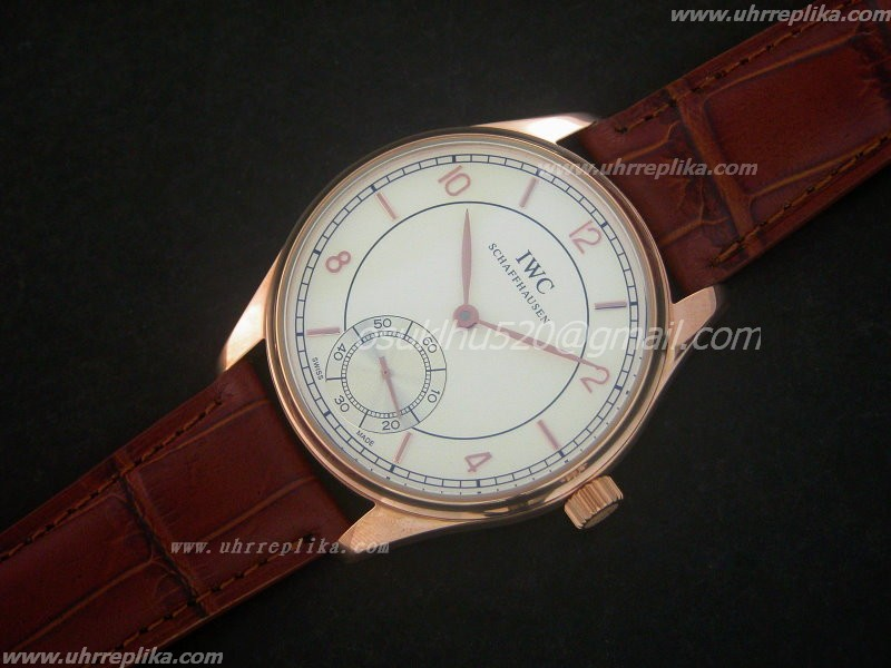 Replica IWC F A Jones RG Weiss Decorat Bridge Unitas 6497