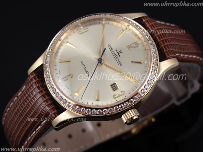 jaeger lecoultre fake master Control men automatic Gold