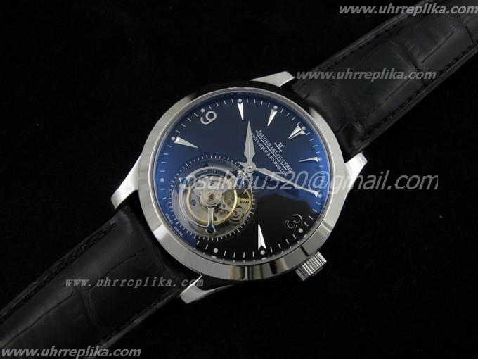 jaeger lecoultre tourbillon replica Regulator schwarzes