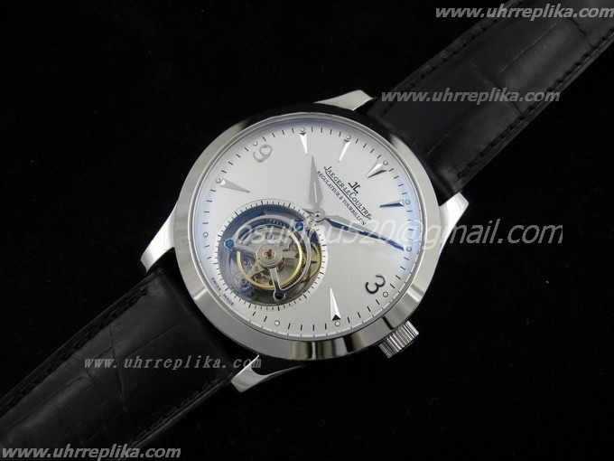 jaeger lecoultre tourbillon replica Regulator Weiss