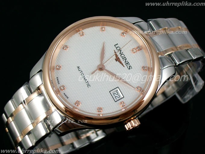 longines automatik uhren Master Collection men automatic Weiss