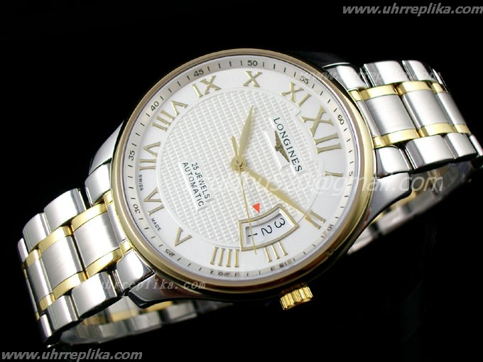 longines automatik armbanduhr Master Collection men automatic Weiss
