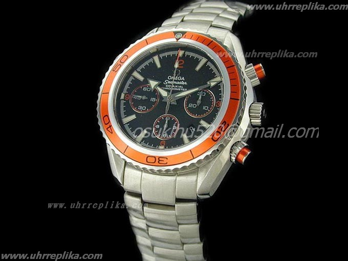 omega replica kaufen Planet Ocean Chrono Orange