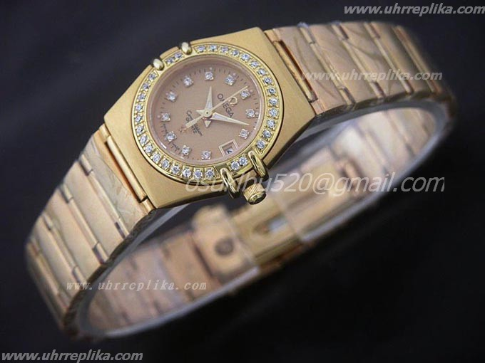 replica omega constellation watches Gents Quarz Diamantens