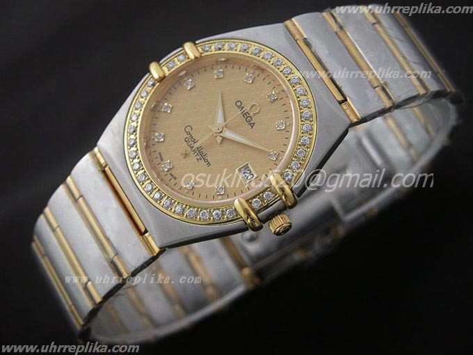 omega constellation replica herren Gents Quarz Diamantens 36mm