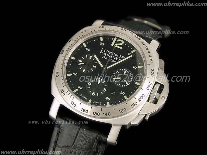 panerai daylight replica Pam 196 Chrono Asian 7753