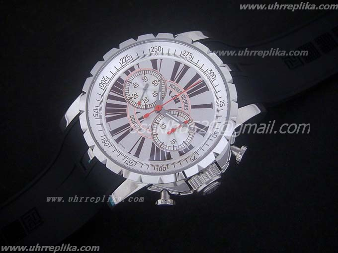 roger dubuis for sale Excalibur Chronoexcel Lemania Weiss