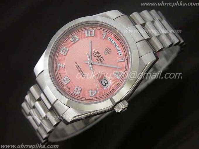 rolex day date 2 imitat Oyster 41mm Pink
