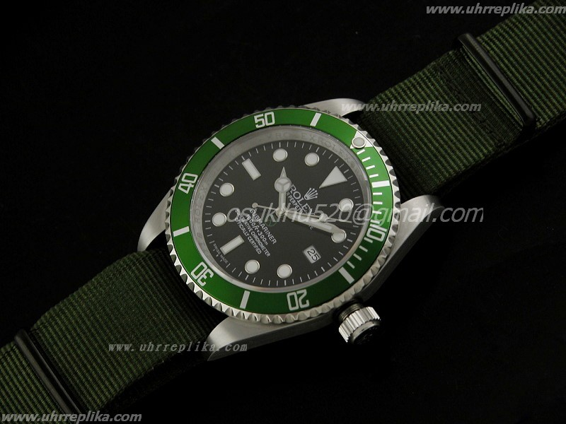 Rolex Submeriner ETA replica kaufen 3135 Montres De Sport Military Green